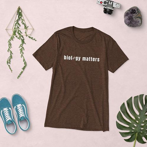 Biology Matters Unisex Tri-Blend T-Shirt