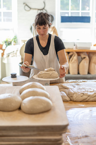 Kerry Hanney, baker and owner of Night Moves Bread and Pie in Biddeford