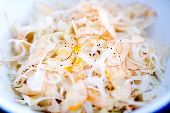 Fennel, Apple and Orange Salad