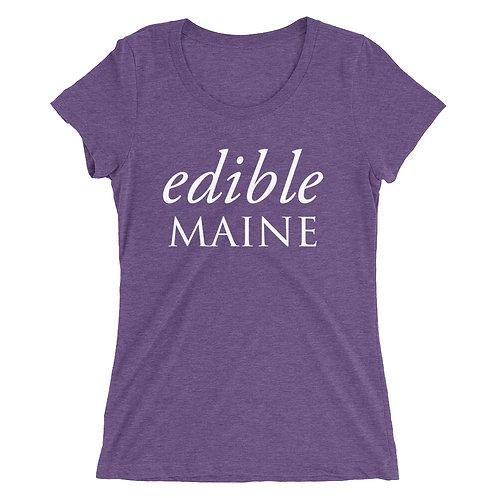 Ladies t-shirt (white logo)