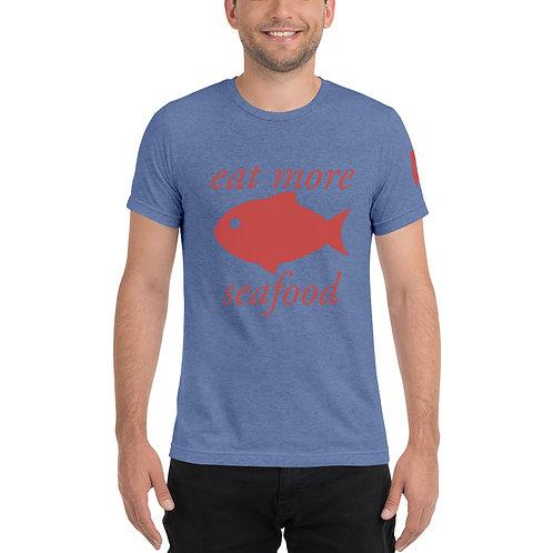Men's Seafood t-shirt (red logo)
