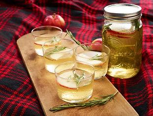 Apple-Rosemary Tea Spritzer