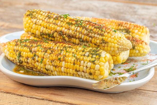 Corn with Cilantro-Cumin Butter
