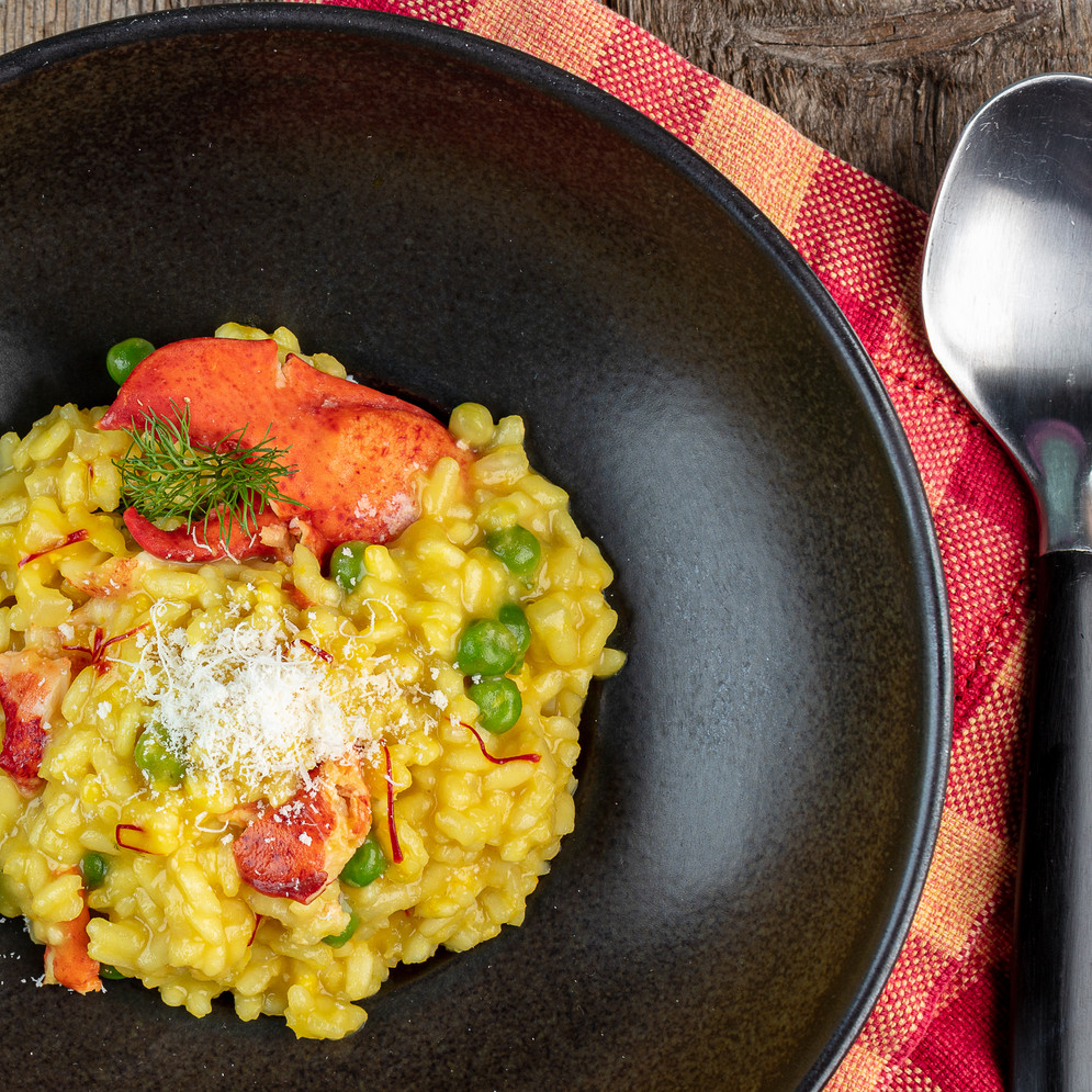 Lobster, Fennel, and Saffron Risotto