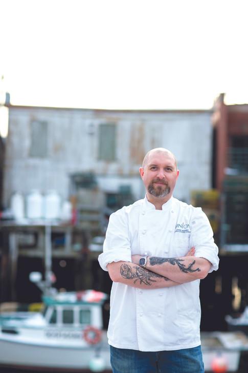Executive Chef Josh Berry,  Union Restaurant
