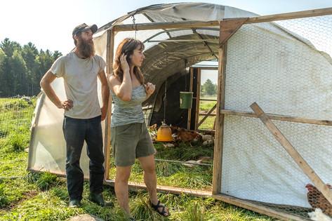Sadauckas and her fiancé, Jake, owners of Apple Creek Farm