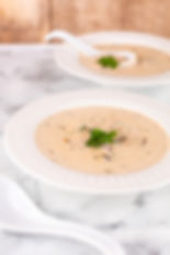 Hungarian Mushroom Soup (for a crowd)