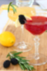 Cucumber and Basil Lemon Spritzer