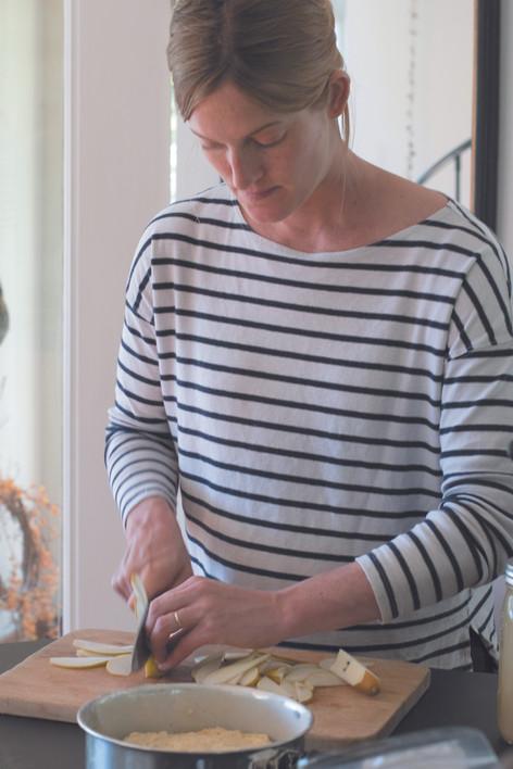 Salt Water Farm proprietress Annemarie Ahearn