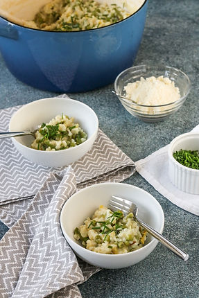 Asparagus and Peas Spring Risotto