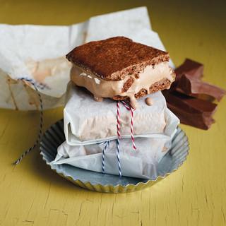 Milk Chocolate Ice Cream Sandwiches