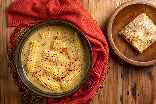 Hot Honey Butter Bath Corn on the Cob