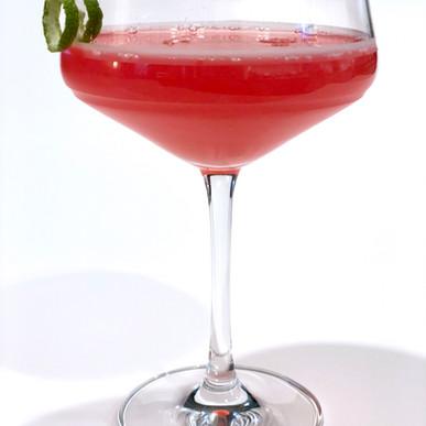 Rhubarb Cosmo