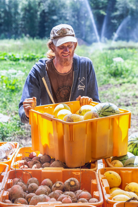 Jerolmack enjoys photographic landscapes when not farming