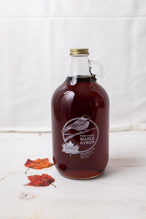 A Jug of Maine Maple Syrup