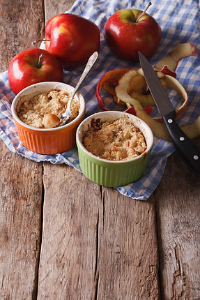 The Last Bite: Apple Crisp from the Edible Maine Kitchen