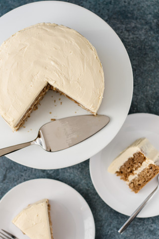 Spiced Parsnip Cake with Ginger Maple  Cream Cheese Frosting