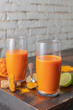 Carrot and Turmeric Juice