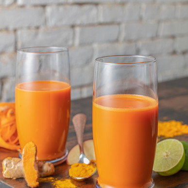 Carrot and Turmeric Juice