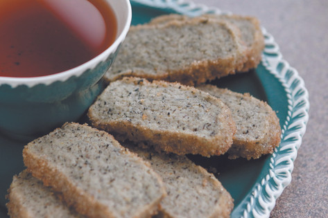 Earl grey dipper biscuits