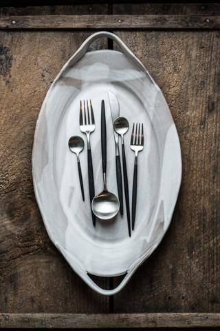 Elegant oval serving platter in alabaster