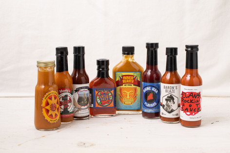 All the Hot Sauce You Can Handle