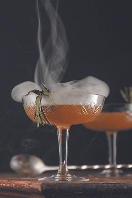 Smokin' Rosemary Lemon Drop