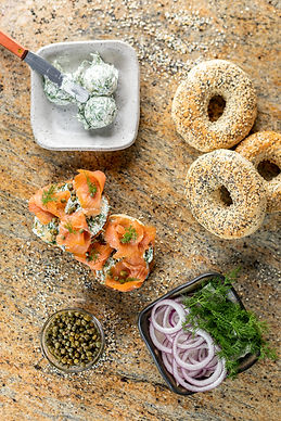 Made-from-Scratch Bagels with Fresh Dill Cream Cheese