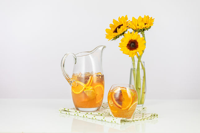 Citrus and Rosemary Sangria Pitcher