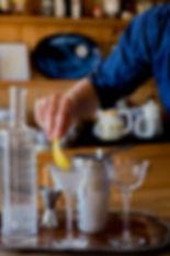 Maine Potato Vodka Martini, Ice Cold and Up
