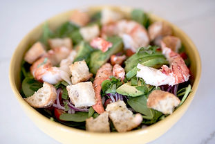 Springtime Lobster Panzanella Salad with Lemon Dijon Vinaigrette