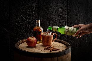 Salted Cider Mule