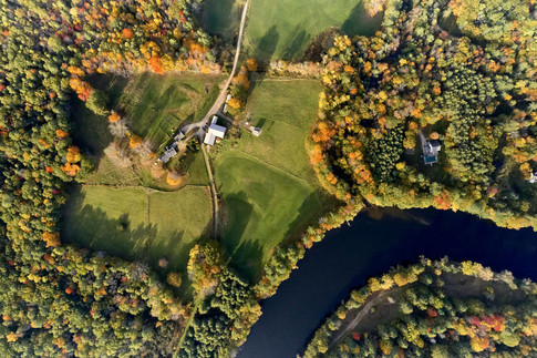 The River Bedn Farm in Saco where the Ecology School is constructing a $14.1 million living building chanllenge-compliant facility.