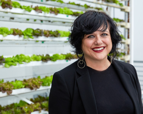 Vertical Harvest Co-Founder Nona Yehia