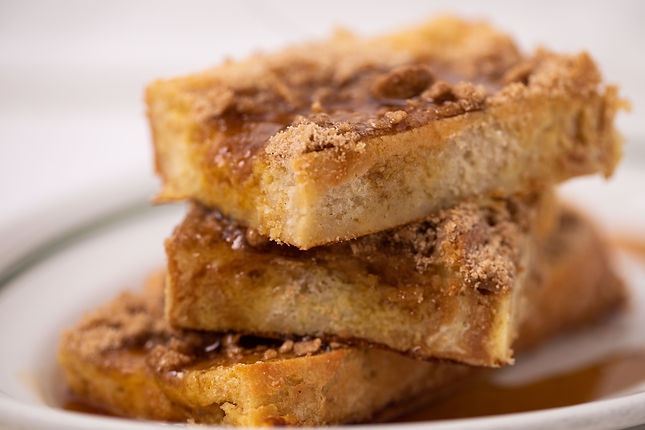 Baked French Toast with Streusel Topping