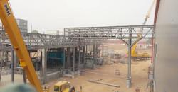 Installation of Pipe bridge at NBC plant, Kano