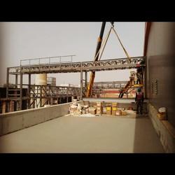 Pipe bridge installation