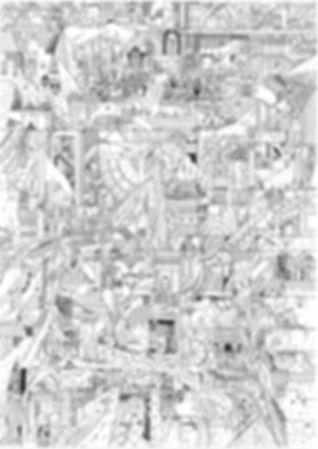 Art of Carolin Prinn, pen and ink, surrealism, illustration, art, drawing, fantasy, contemporary artist
