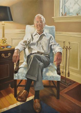 My Father 76 x 107 cm oil on belgian linen  SOLD  Adam Portrait Award Finalist 2016