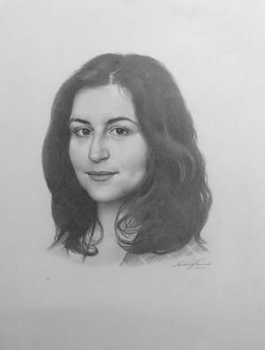 Sophi graphite on paper  Private collection, Auckland, New Zealand
