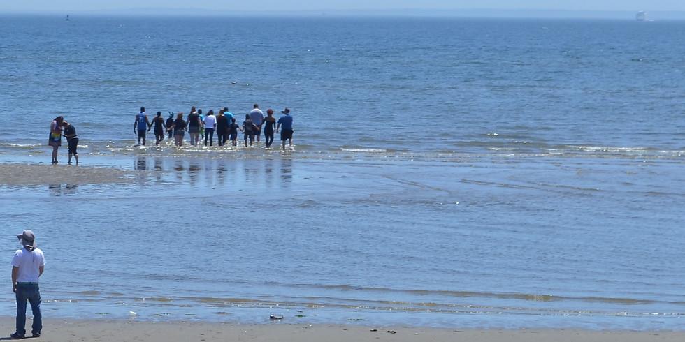 Baptism on the Beach!