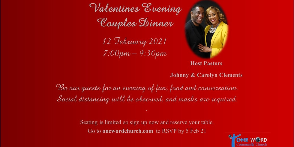 Valentines Day Couples Dinner