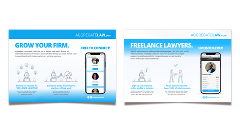 Graphic Design - Aggregate Law Flyer