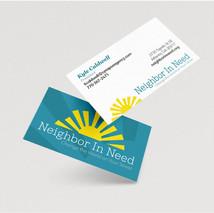 Neighbor in Need Business Card
