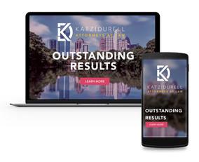 Brand Identity - Website Mockup - Katz Durell