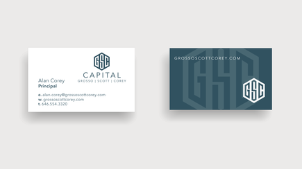 Brand Identity - Graphic Design - GSC Capital