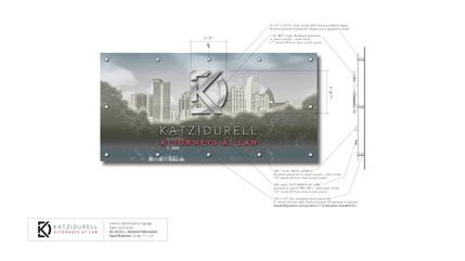 Interior Signage Design - Katz Durell