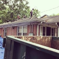 Roof on Sisson