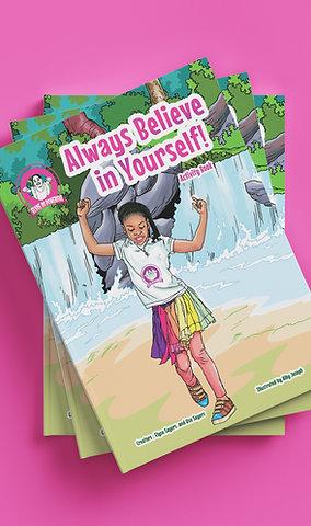 Always Believe in Yourself! (Autographed Activity Book)