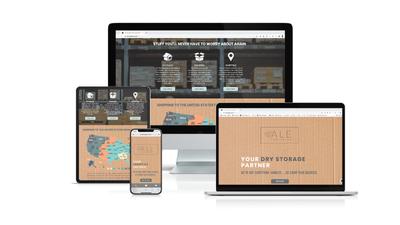 Web Design & Brand Identity - ALE Logistics